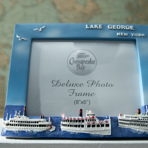 "8 x 6"" Horizontal Steamboat Photo Frame"