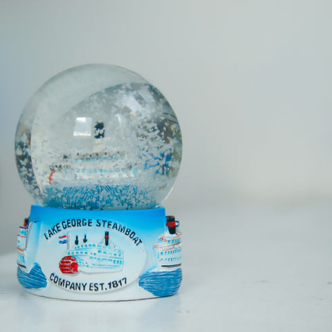 Steamboat Company Snow globe featuring the Minne Ha-Ha