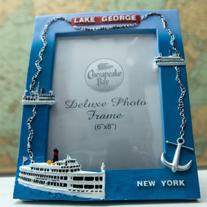 "6 x 8"" Vertical Nautical Photo Frame"