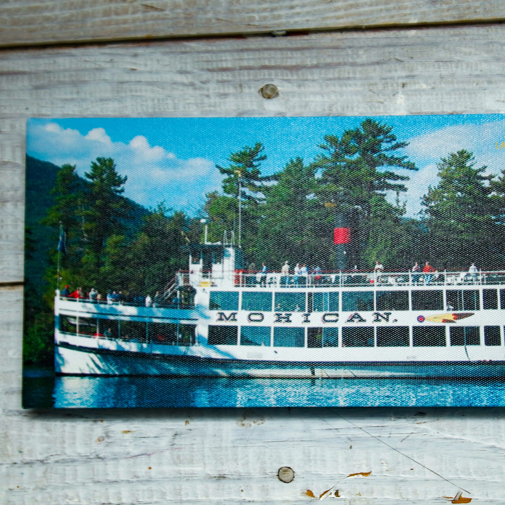 Mohican Canvas Wrap Frame Photo