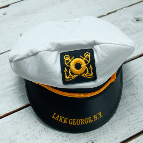 Adult Cloth Steamboat Captain's Hat