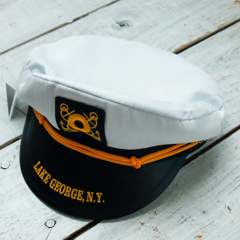 Child's Cloth Steamboat Captain's Hat