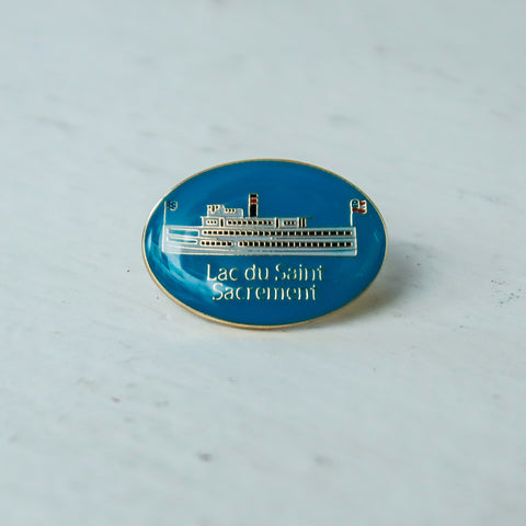 Lac du Saint Sacrement Lapel Pin