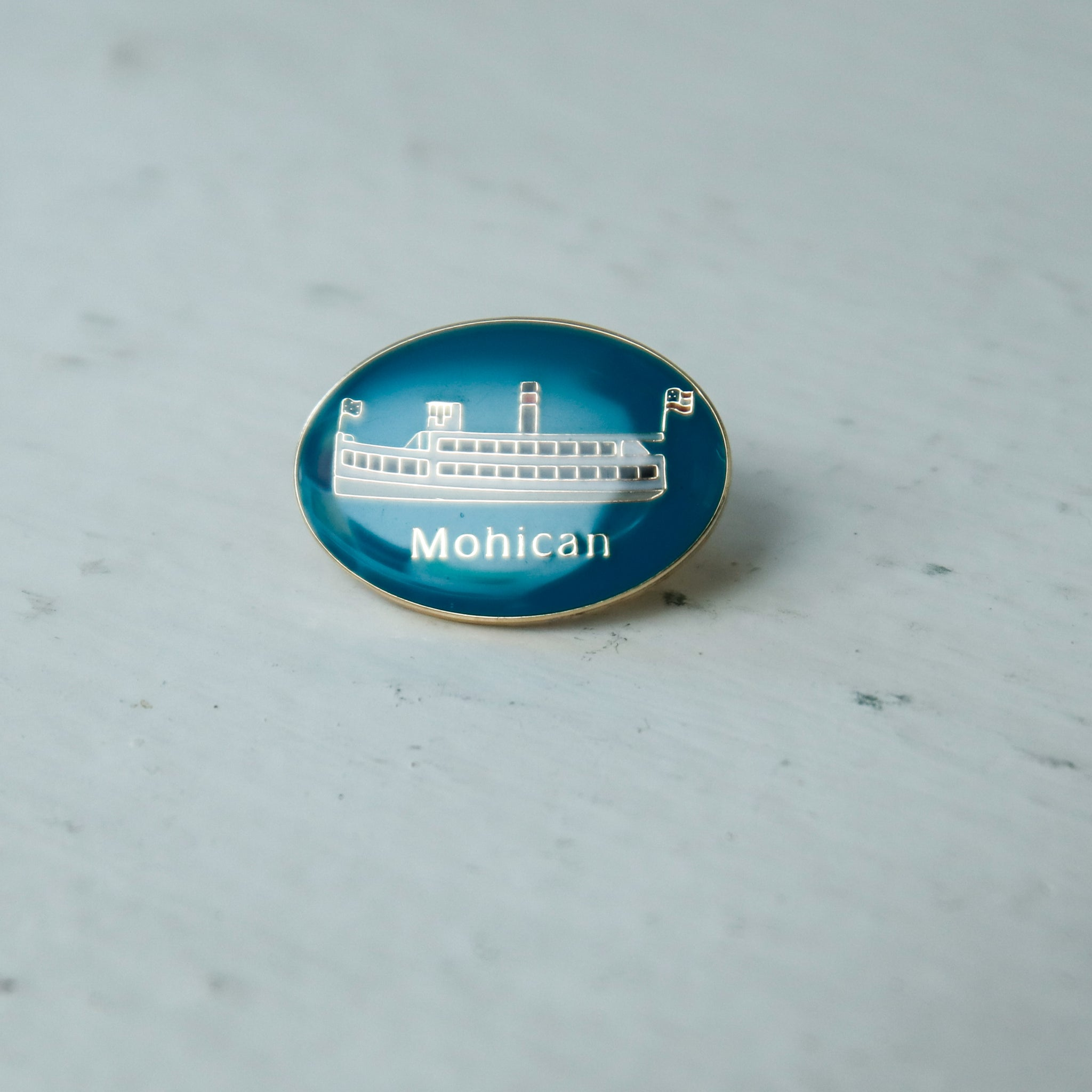 Mohican Lapel Pin