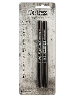 Distressed Embossing Pens