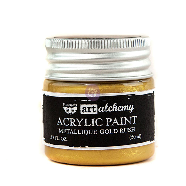 Metallique Acrylic - Gold Rush