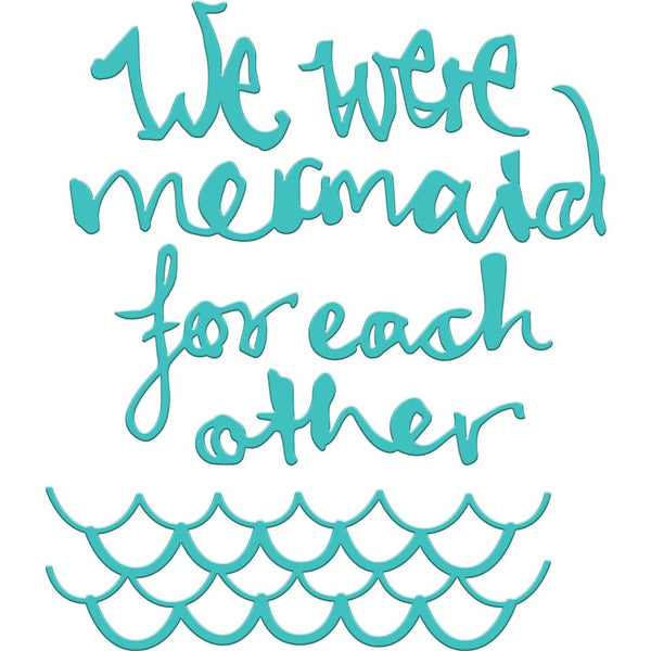 Mermaid for Each Other Diecut set bu Jane Davenport