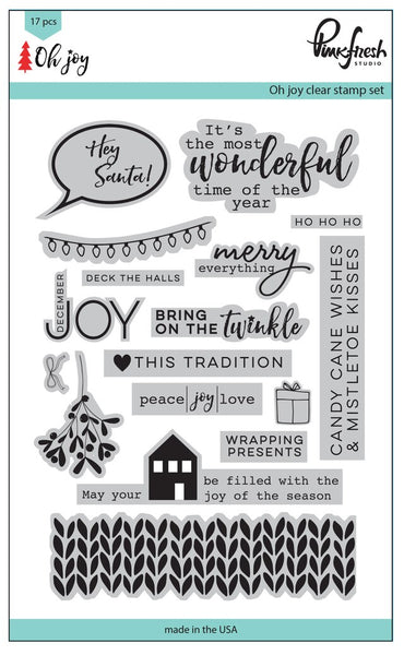 Oh Joy Stamp Set