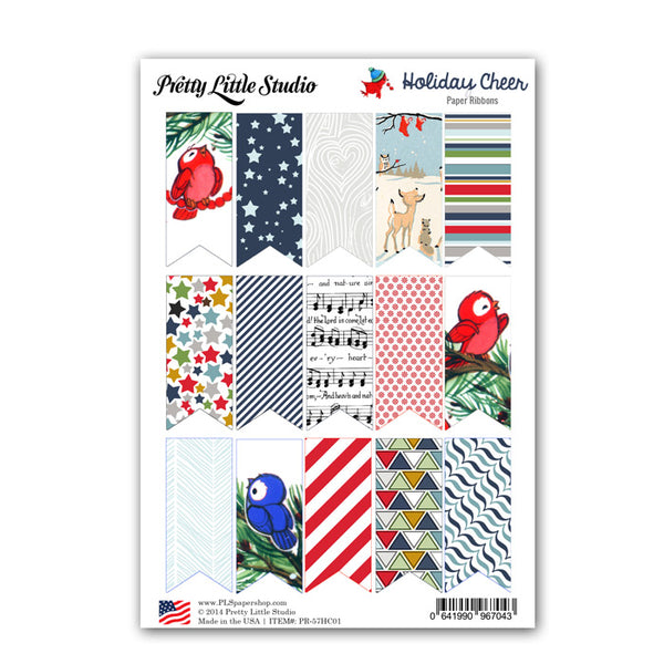 Holiday Cheer Paper Ribbons