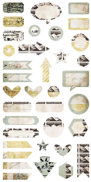Air Mail - Die-cut Elements 6x12