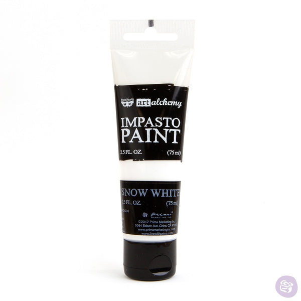 Impasto Paint - Snow White