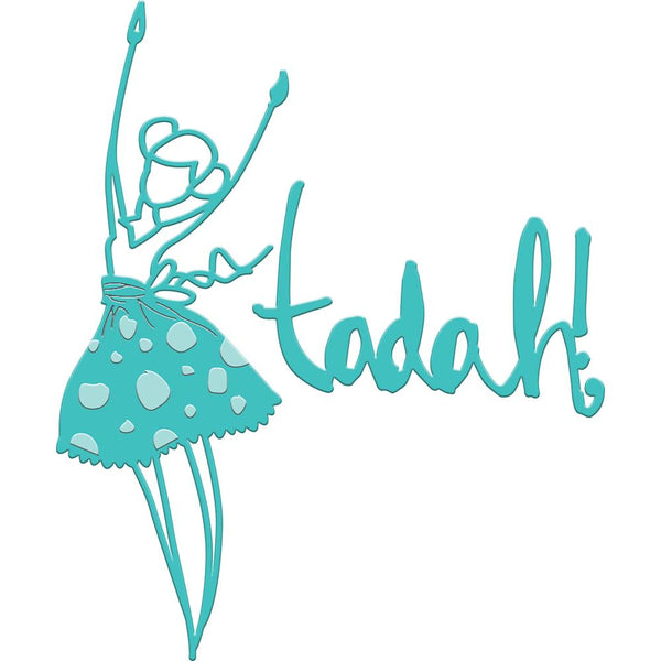 Tadah Girl Diecut by Jane Davenport