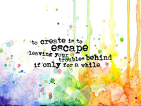 Create to Escape