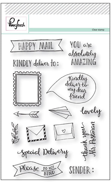 Happy Mail Stamp