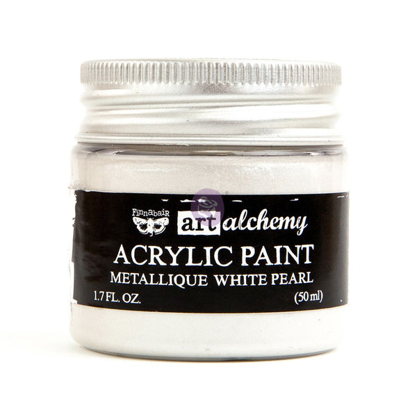 Art Alchemy - Metallic Opal White