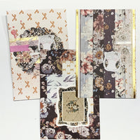A5 Divider Set - Neutral Florals