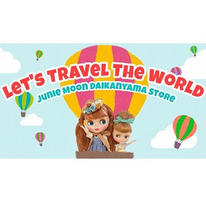 Junie Moon YouTubeチャンネルより、#OOAK #Blythe Art Show: ♡「Let's Travel The World」at Junie Moon Daikanyama ♡のお知らせです!