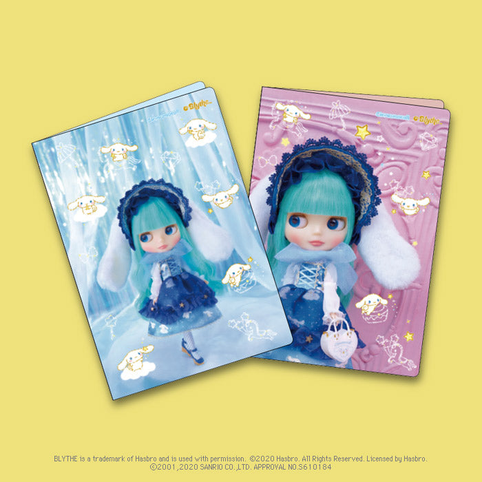 "Blythe ""A5 Double Pocket File 2 Sheets Set"" Cinnamoroll"