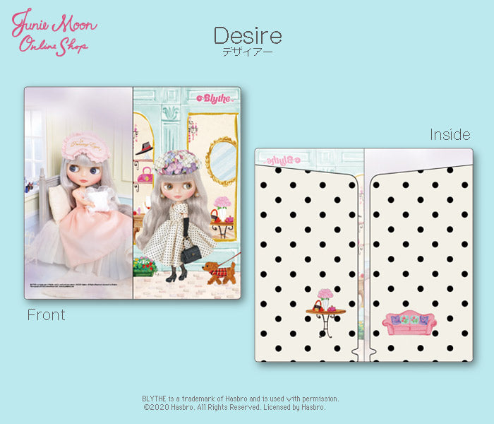 "Blythe ""Set of 2 ticket files"""