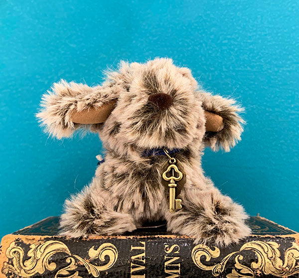 "☆OOAK☆ Plush Toy ""Chocolate Doggie"" by Kemokemo Kobo"