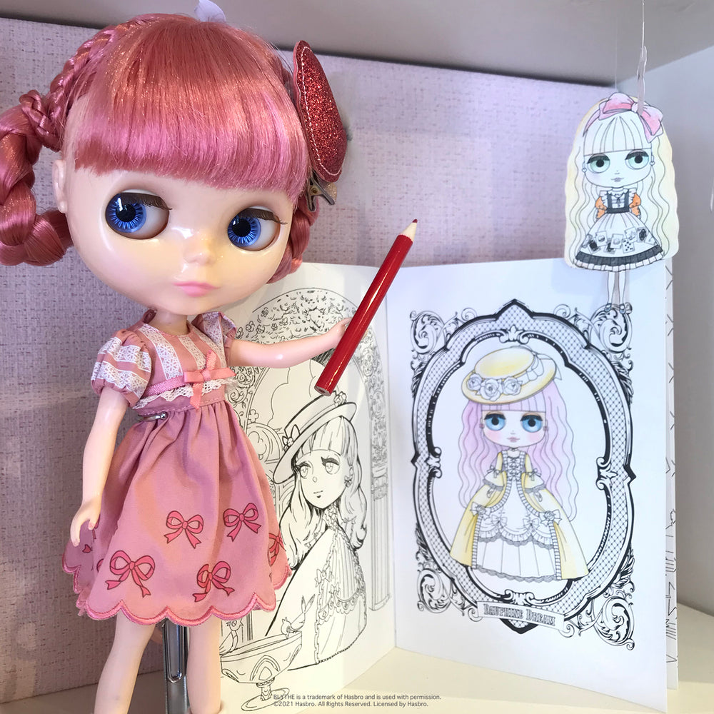 "Blythe ""Cute Coloring"""