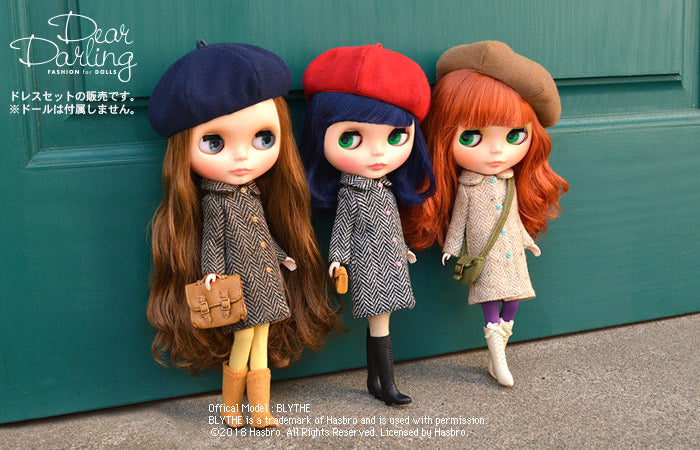 Dear Darling fashion for dolls「ベレー帽」