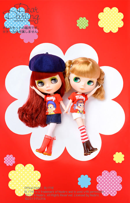 Dear Darling fashion for dolls「Peko&Pokoコラボ Tシャツ」ポコ