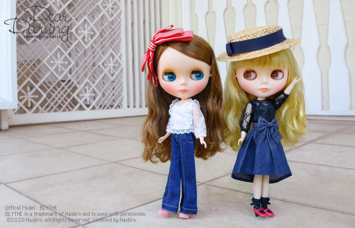 Dear Darling fashion for dolls「レースブラウス」