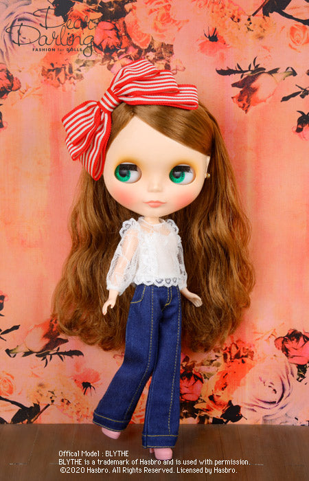 "Dear Darling fashion for dolls ""Lace blouse"""
