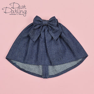 "Dear Darling fashion for dolls ""Denim fishtail skirt"""