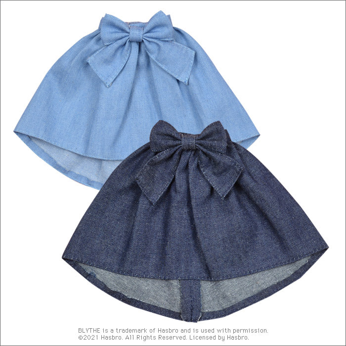 "Load image into Gallery viewer, Dear Darling fashion for dolls ""Denim fishtail skirt"""
