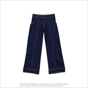 "Load image into Gallery viewer, Dear Darling fashion for dolls ""Denim pants"""