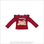 "Dear Darling fashion for dolls ""Shirley Temple Rabbit Bear Long T-shirt"""