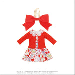 "Dear Darling fashion for dolls ""Shirley Temple Shirt Dress Set"""
