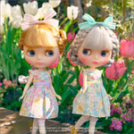 "Dear Darling fashion for dolls ""Fresh Flowers for 22cm dolls"""