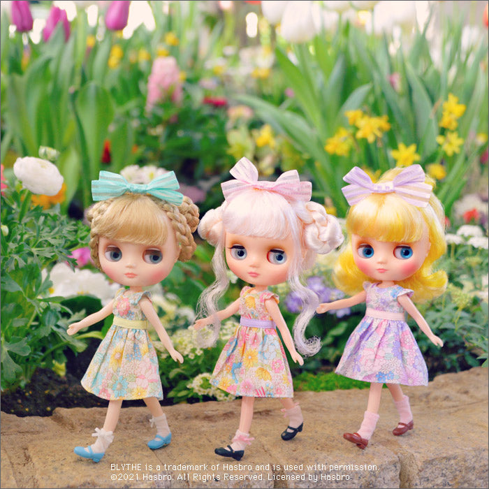 Dear Darling fashion for dolls「フレッシュフラワーズ for 20cmドール」