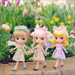 "Dear Darling fashion for dolls ""Fresh Flowers for 20cm dolls"""
