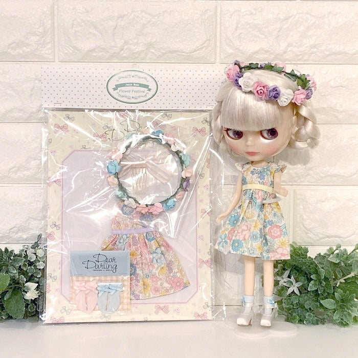"≪FCFS≫  ""Fresh Flowers"" fashion styling set for 22cm dolls"