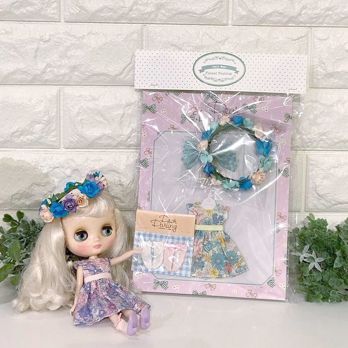 "≪FCFS≫  ""Fresh Flowers"" fashion styling set for 20 cm dolls"