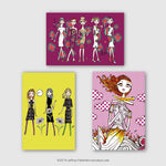 "Jeffrey Fulvimari ""Postcard Set (Set of 3)"""
