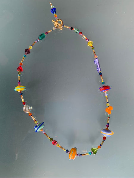 Necklace - Lampwork