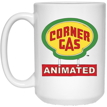 Load image into Gallery viewer, Corner Gas Animated Logo White Mug