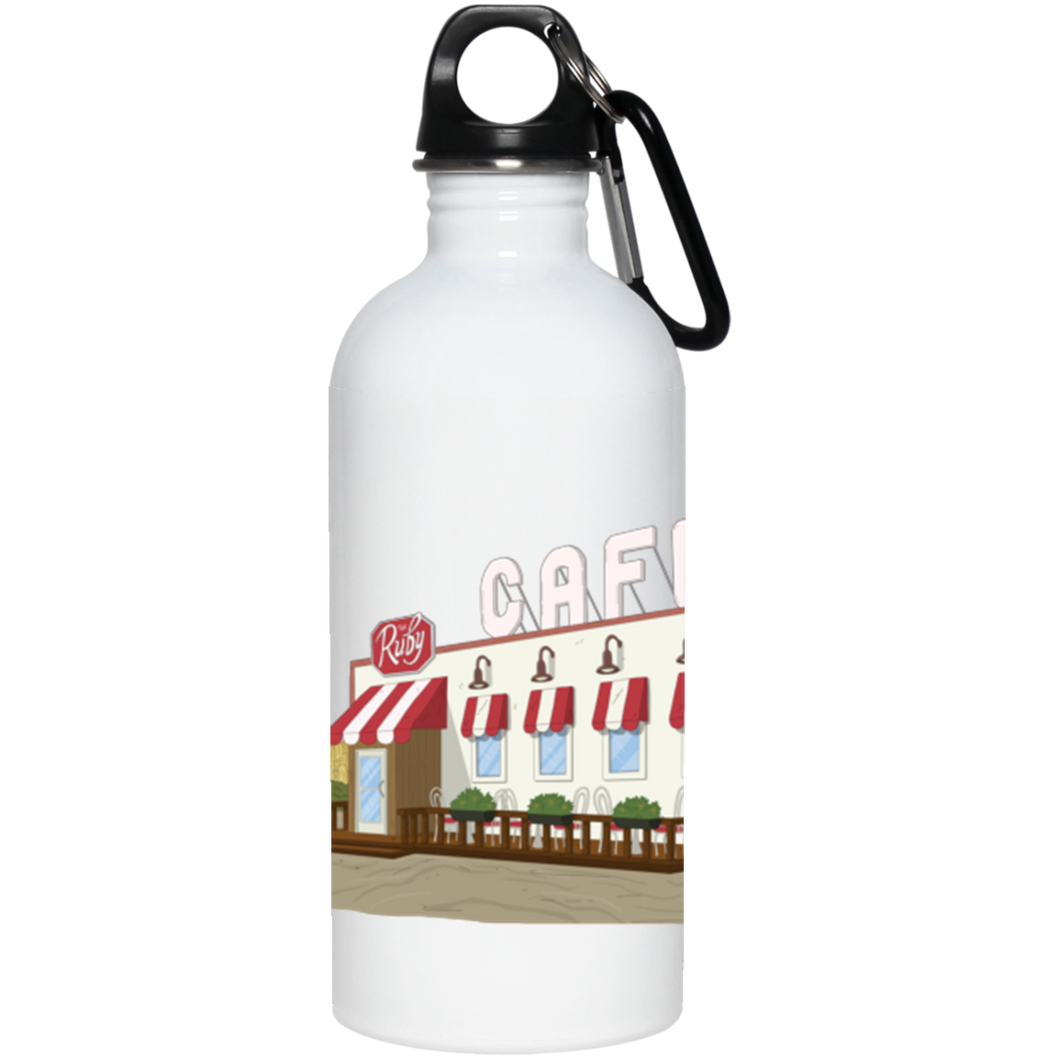 The Ruby Landscape Stainless Steel Water Bottle