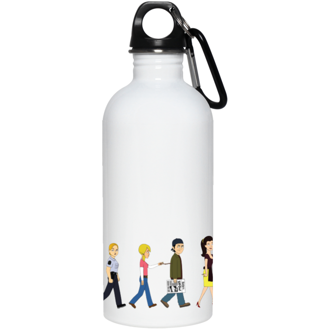 Corner Gas Characters Stainless Steel Water Bottle