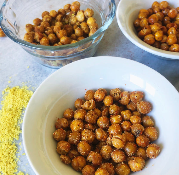 BECAUSE SOMETIMES ALL YOU HAVE IS A CAN OF GARBANZO BEANS... (Part 2 - Crispy Chick Peas)