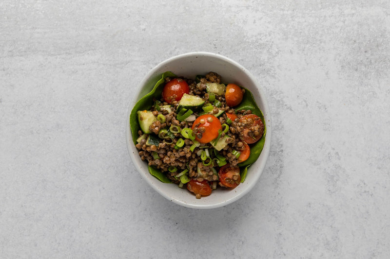 Lentil Salad with Arugula