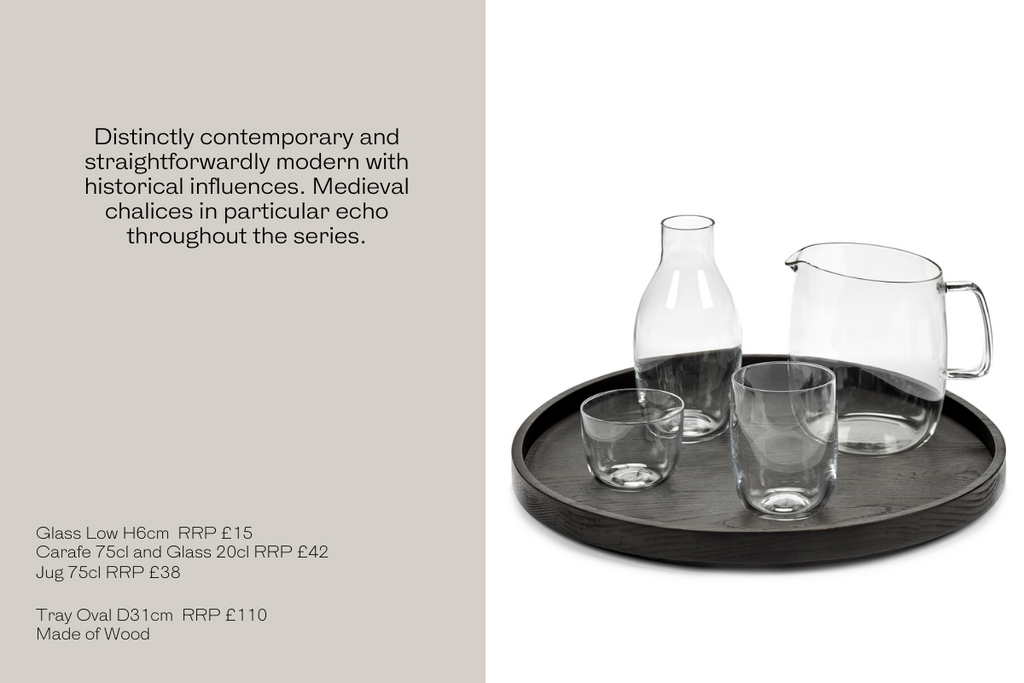 Passe Partout Glassware the perfect gift for this Christmas for him for her