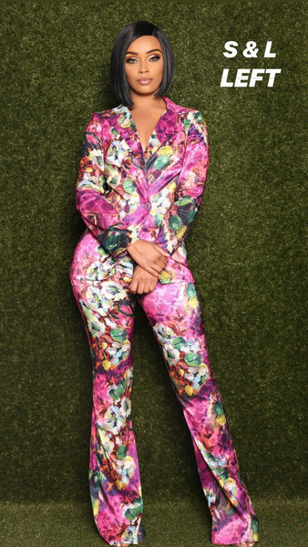 ADDICTED TO FASHION SUIT - FLOWER