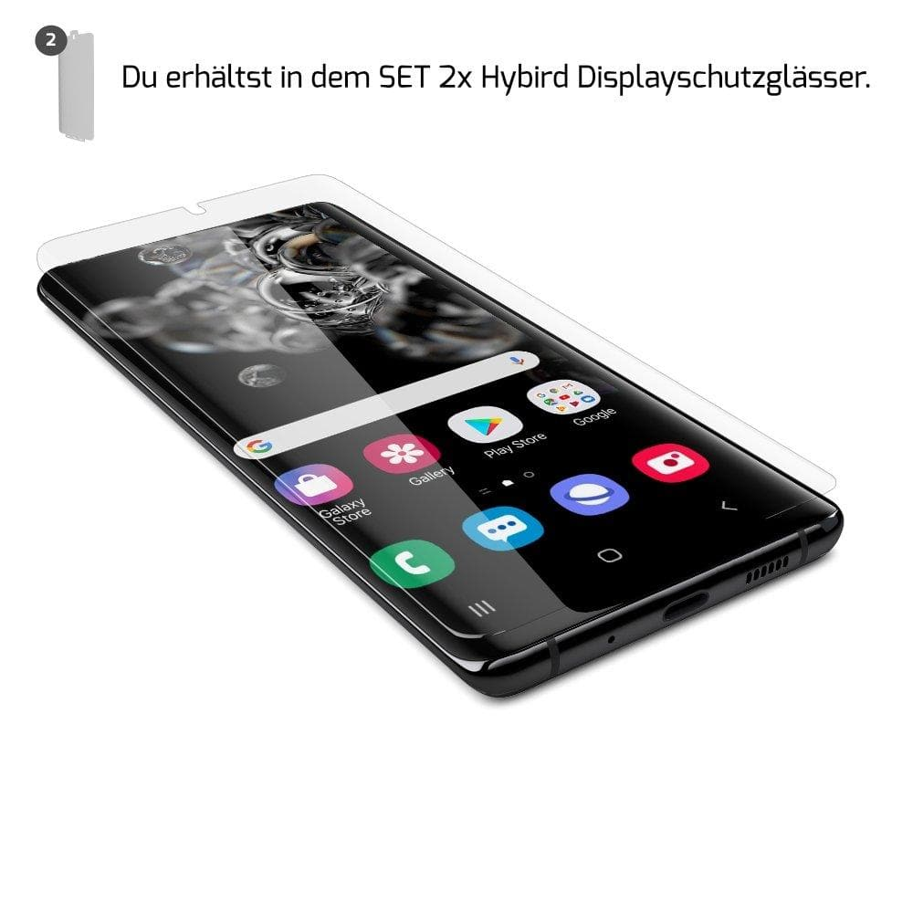 GLAZ Samsung Galaxy S20 Plus Displayschutz Hybrid - GLAZ Displayschutz