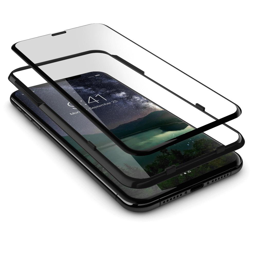 Clear Notch Displayschutz 2.0 4D iPhone XS Max